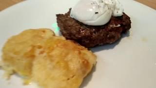 Кулинарная Студия Clever: Бифштекс, рубленный из филе говядины, с яйцом пашот