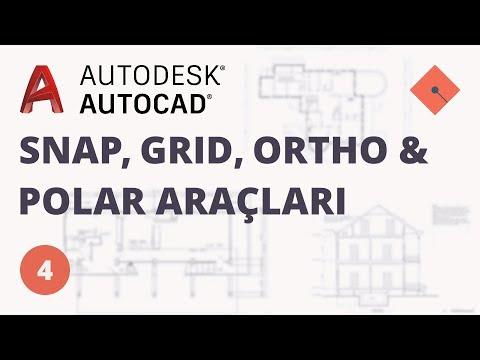 Yakın Kampüs - AutoCAD Ders 4 - Snap,...