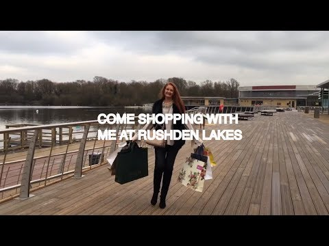 Come Shopping With Me Rushden Lakes Girls Day Out