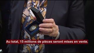 15 millions de pièces de 2€ à l'effigie du Bleuet de France