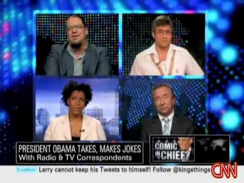 Penn Jillette Critiques Barack Obama's Stand-Up Comedy at Radio & TV Correspondents' Dinner
