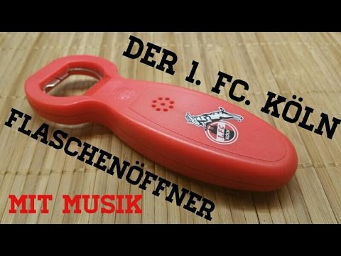 1 FC Köln Flaschenöffner mit Sound Kurve