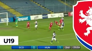 Scotland U19 vs Hungary U19 full match