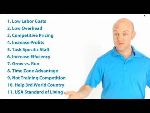 Benefits of Outsourcing - Nate Woodbury