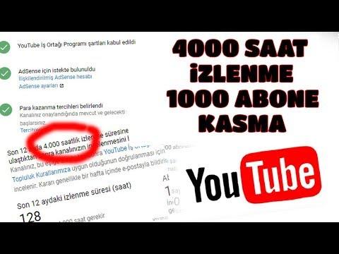 Youtube Abone ve