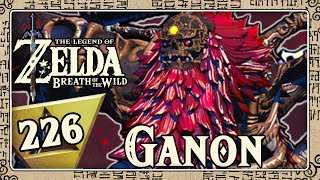 THE LEGEND OF ZELDA BREATH OF THE WILD Part 226: Final battle against the devastation Ganon