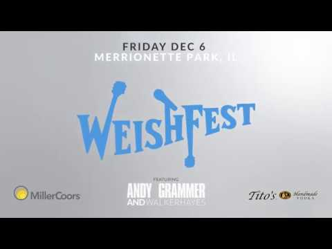 WeishFest 2019 Commercial - Andy Grammer, Walker Hayes, & More - Fri. Dec 6th