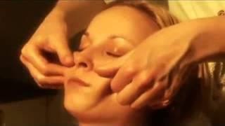 как делать испанский моделирующий массаж лица и шеи