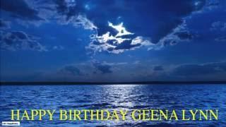 GeenaLynn   Moon La Luna - Happy Birthday