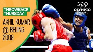Akhil Kumar 🇮🇳 vs Sergey Vodopyanov 🇷🇺 - Men's Olympic Boxing | Round of 16 | Throwback Thursday
