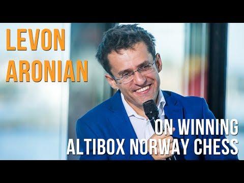 Levon Aronian on winning the 2017 Altibox Norway Chess tournament