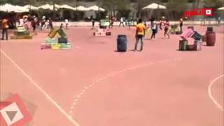 الأهلي ينظم مسابقات للأطفال فى أعياد الربيع (فيديو)