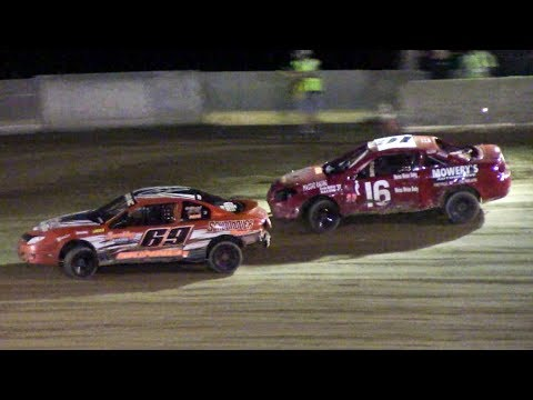 Kids Mini Stock Feature | Old Bradford Speedway | 9-14-18