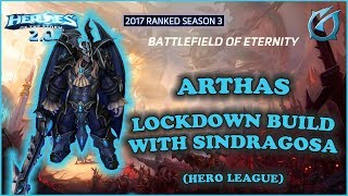 Grubby | Heroes of the Storm 2.0 - Arthas - Lockdown Build with Sindragosa - HL 2017 S3 - BoE