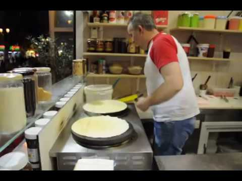 Crepes of Valentino in Thessaloniki