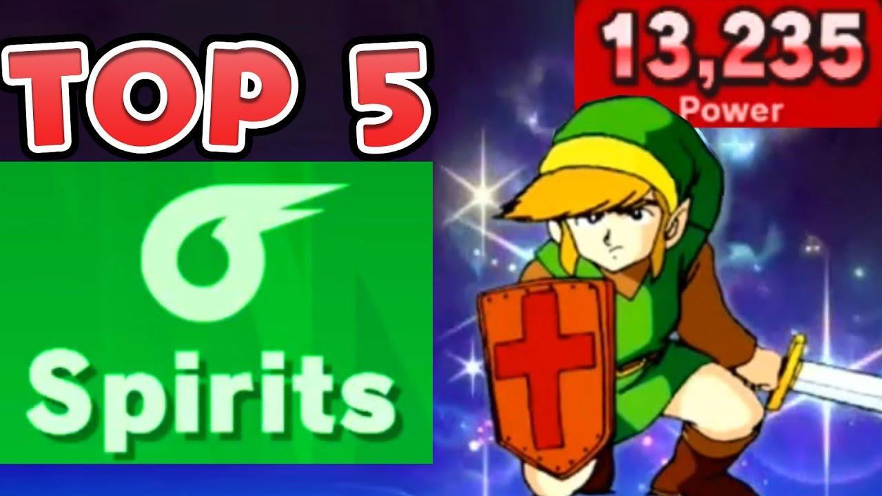 Top 5 Strongest Spirits In World Of Light Super Smash Bros