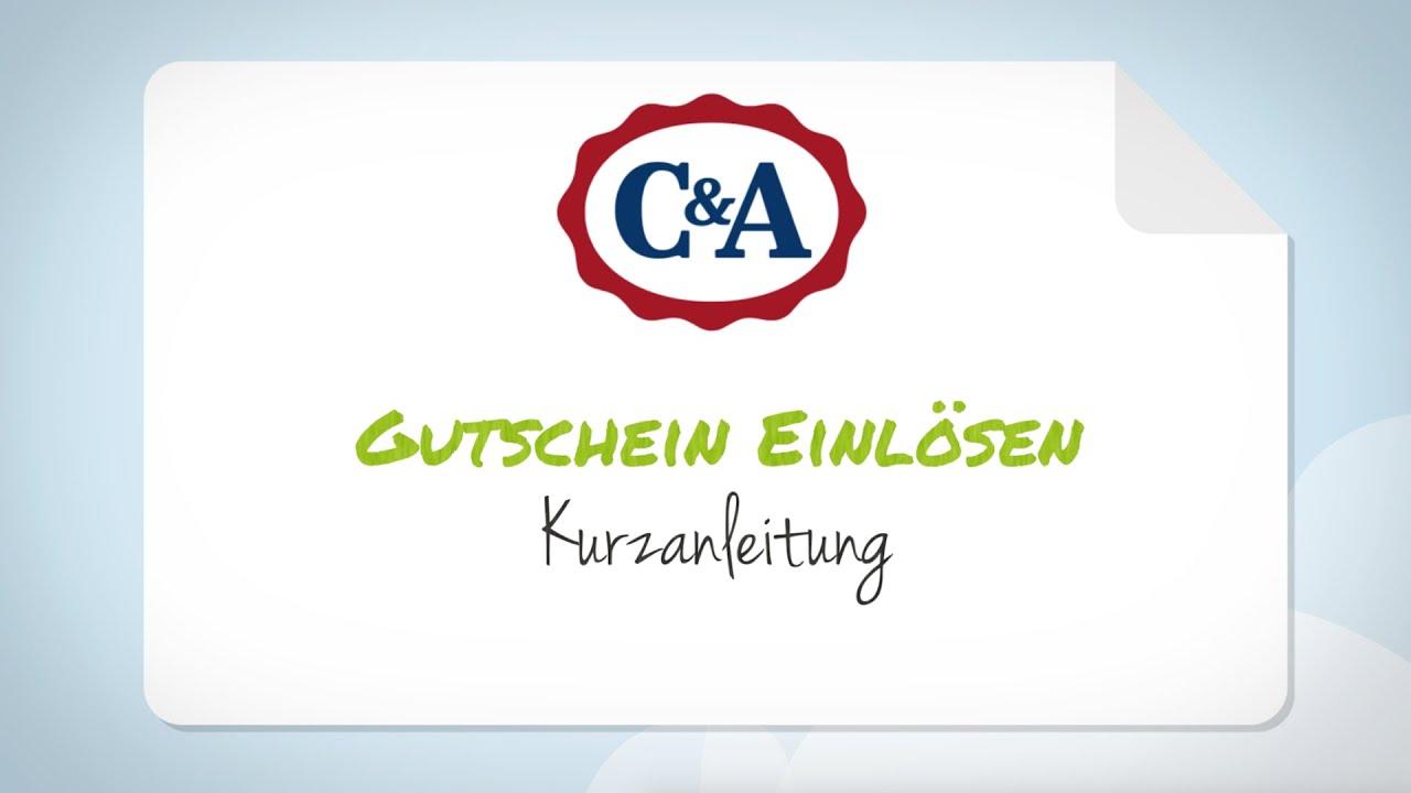 One De Gutschein : c a gutschein einl sen schritt f r schritt anleitung youtube ~ Watch28wear.com Haus und Dekorationen
