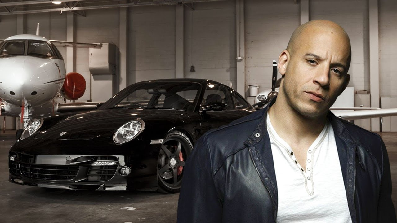 Vin Diesel - 4,500,000 $ SUPER CARS COLLECTION 2017 - YouTube