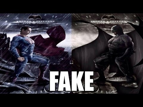 New Batman V Superman Poster Is FAKE