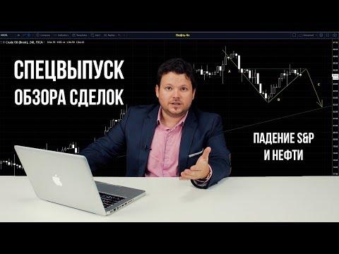 Обвал S&P 500 и рынков - Спецвыпуск обзора сделок с Денисом Стукалиным