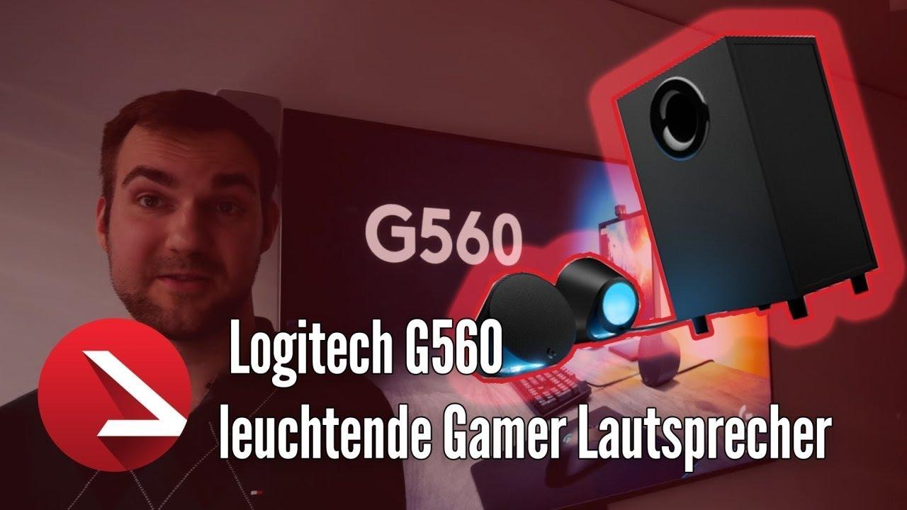 Stimmungslicht zu guten 2 1 Sound | Logitech G560 Gamer Soundsystem erster  Eindruck