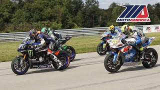 MotoAmerica EBC Brakes Superbike Race 2 at Pittsburgh