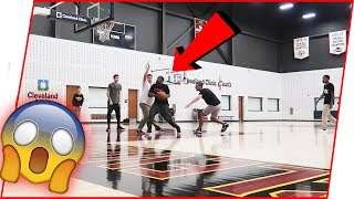 Playing 3on3 Inside The OFFICIAL Cleveland Cavaliers Practice Facility!