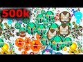 500 k Agario Lobby? Agar.io Hacked Gameplay
