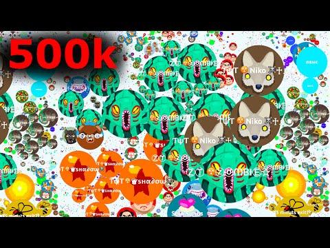 500 k Agario Lobby? Agar.io Hacked Gameplay