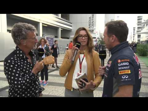 2015 Russia - Post-Qualifying: Christian Horner