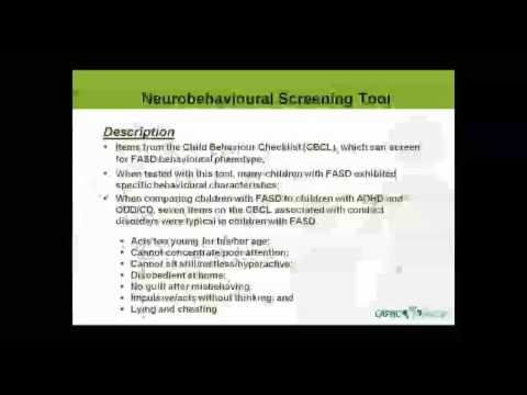 Introduction to the CAPHC FASD Screening Toolkit