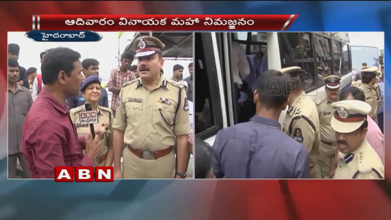 ghmc-commissioner-dana-kishore-police-commissioner-anjani-kumar-face-to-face-over-ganesh-immersion