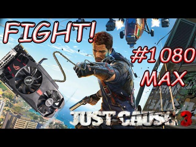 Just Cause 3 1080 Max HD7970 ainda aguenta a briga