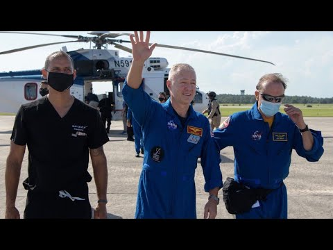 SpaceX's Crew Dragon astronauts return to earth - Yahoo Finance