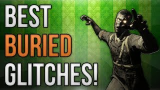 BO2: BEST Buried Zombies Glitches! (Wallbreaches and Spots)