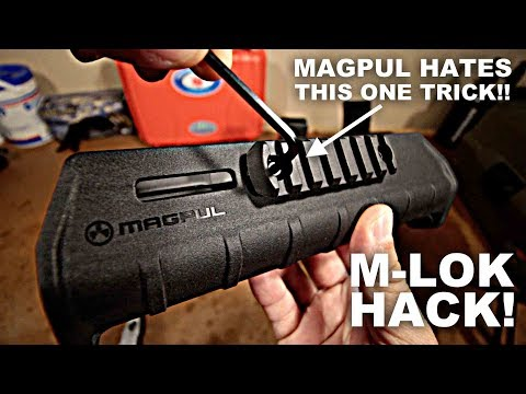 M-LOK Mounting Hack! Magpul Hates This Trick