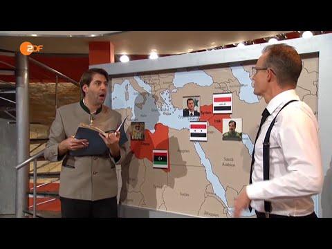 Die Anstalt: Ein Bayer in der US-Botschaft - Max Uthoff und Claus von Wagner - Bananenrepublik