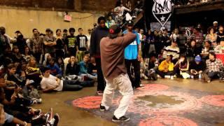 Monsta Pop and Venom vs Kid Boogie and J-Smooth @ Juste Debout 2011 NYC/USA preliminaries