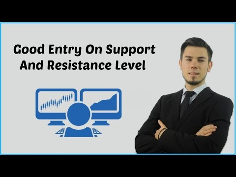 How To Find Entry On Support And Resistance Level On Crypto Trading