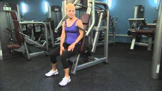 Life Fitness Signature Series Chest Press Instructions