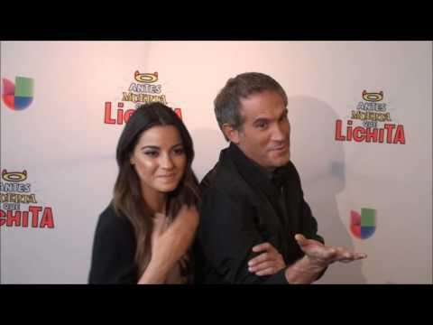 Maite Perroni y Arath de la Torre promueven la telenovela 'Antes Muerta Que Lichita'