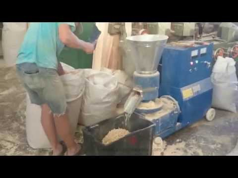 poultry feed pellet machine video