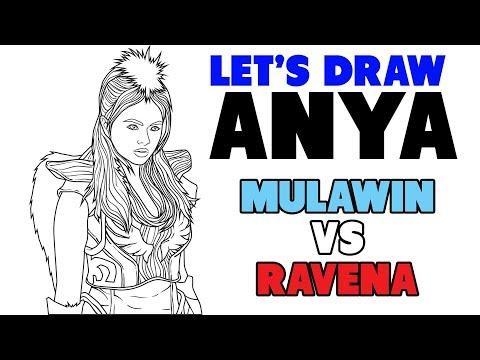 Let's draw Anya of Mulawin vs Ravena