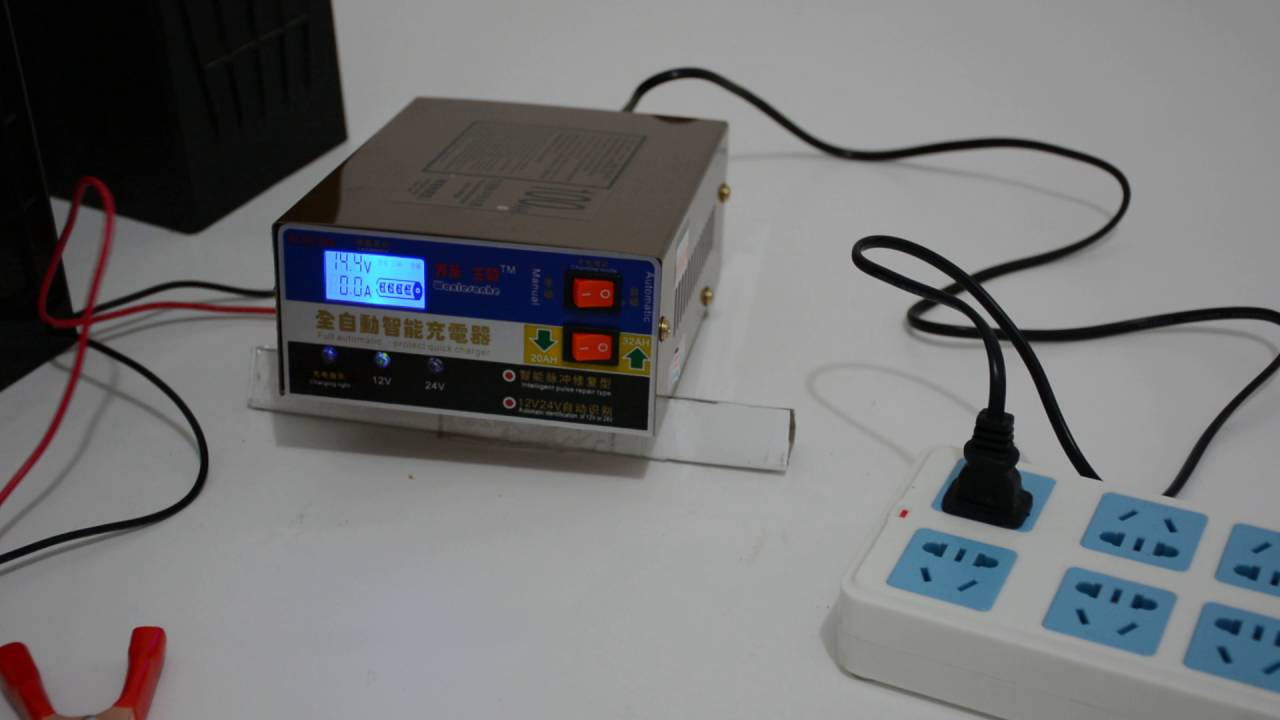 Full Automatic 12v 24v Battery Charger Youtube Circuit Shows About 6 12 Lead Acid Diagram