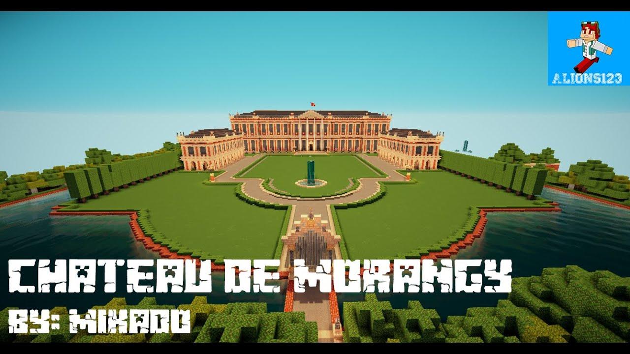 Minecraft awesome builds 10 ch teau de morangy youtube - Chateau de minecraft ...