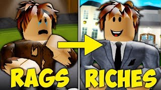 Rags to Riches: A Sad Roblox Bloxburg Movie