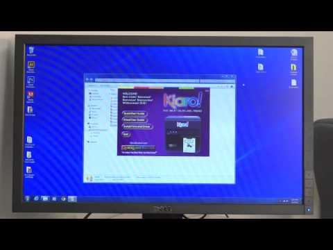 How to Install the Kiaro! Windows Printer Driverand Kiaro! Maintenance  Utility via USB