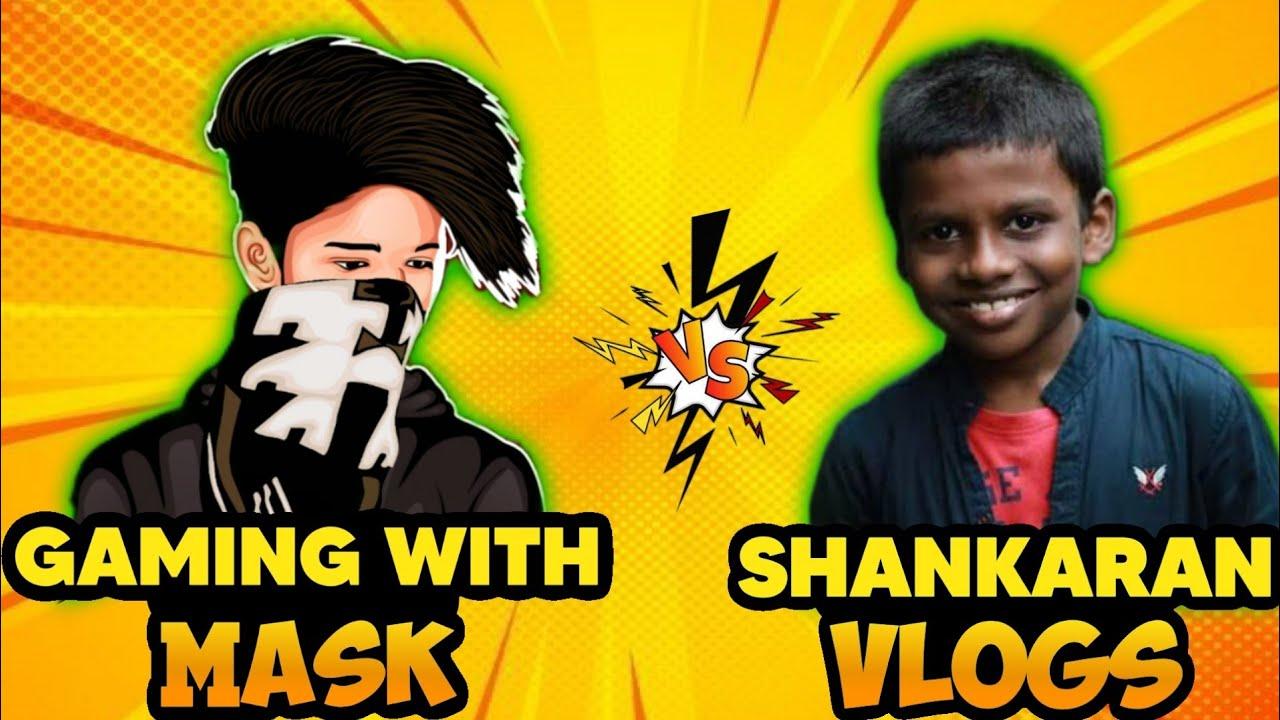 Sankaran Vlogs VS GAMING WITH MASK 1 VS 1 😳 ചെക്കൻ പവറാണ് 🤗