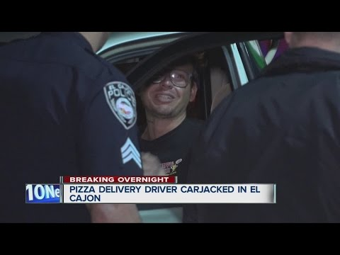Pizza delivery driver robbed, carjacked in El Cajon