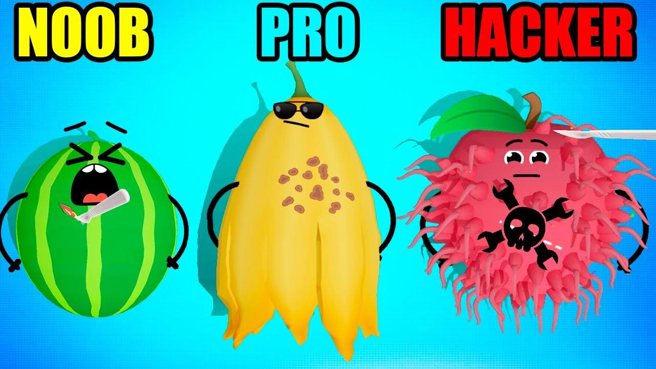 NOOB vs PRO vs HACKER in Fruit Clinic